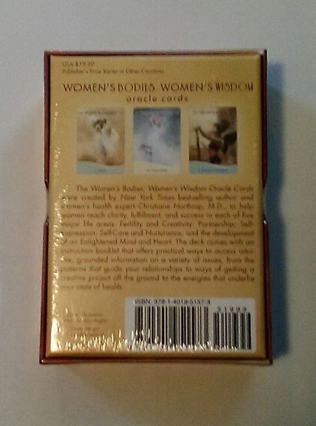 womens wisdom oracle cards
